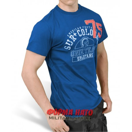 ФУТБОЛКА SURPLUS SPARTANS TEE DARK BLUE/ТЁМНО-ГОЛУБАЯ