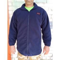 Куртка флисовая с утеплителем Англия, Синяя.