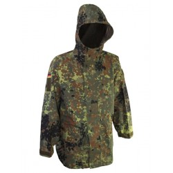 Куртка непромокаемая триламинат Бундесвер (Германия), мембрана GORETEX, Gr.II (48-50), Флектарн, б/у.