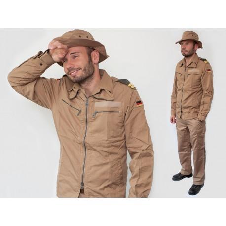 Куртка-ветровка негорючая морской-пехоты Бундесвер (Германия), Coyote