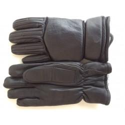 Перчатки кожаные с накладками Англия, Чёрные, б/у.