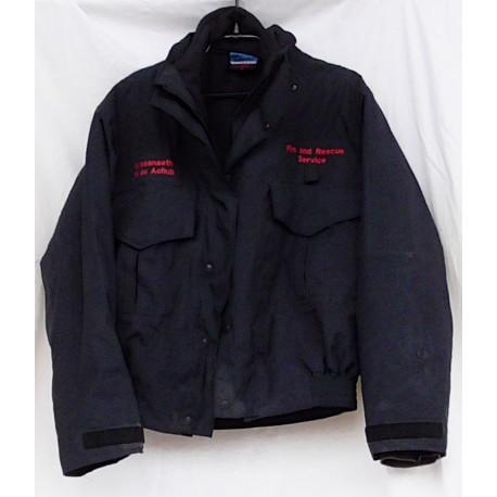 Куртка ветрозащитная с утеплителем пожарной охраны Англия, Тёмно-Синяя