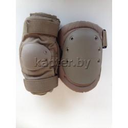 Комплект защитный (наколенники и налокотники) США, Coyote.