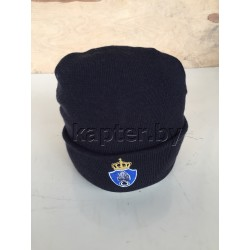 Шапка трикотажная Голандской Полиции чёрная.