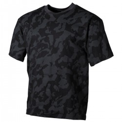 Футболка US T-Shirt Германия, 170г /м², Night Camo.