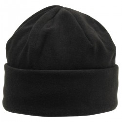Шапка флисовая с подкладкой, Thinsulate, Чёрная.