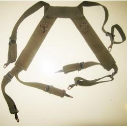 Y-система наплечных лямок для армейского рюкзака Австрия, Олива, б/у.