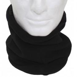 Бафф-шарф . Флиссовый. Чёрный.