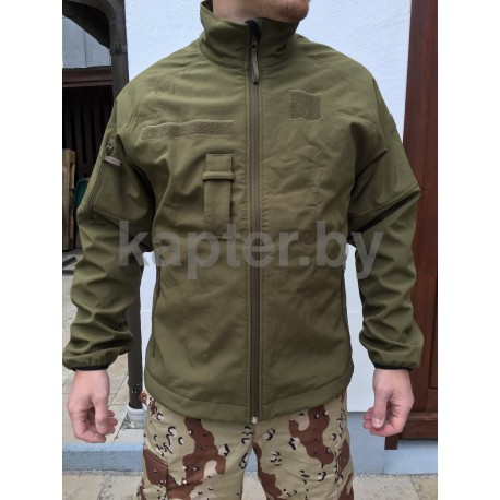 Куртка тактическая  Soft shell   Голландия олива.
