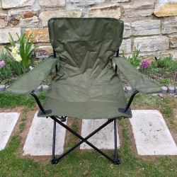 Армейское раскладное кресло . Англия. Олива.