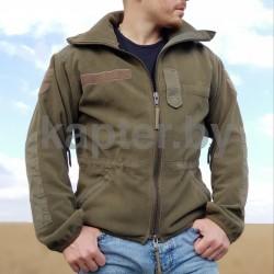 Куртка флисовая Австрия, с мембраной Windstopper, б/у.