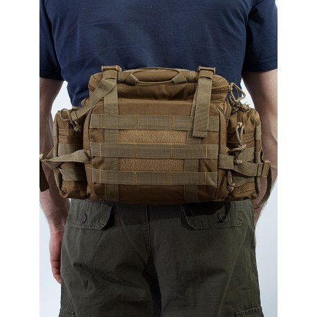 Поясной рюкзак Maxpedition Sabercat Versipack. Coyote.