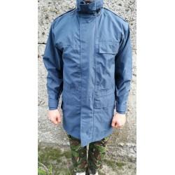 Куртка непромокаемая со светоотражающими вставками Англия, мембрана GORETEX, Синяя, б/у.
