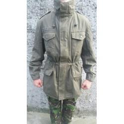 Куртка непромокаемая пехотная Австрия, мембрана GORETEX, Олива, б/у.