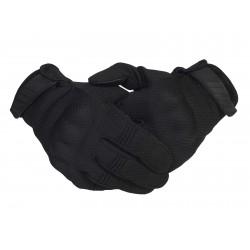 Тактические кевларовые  перчатки  Half-Gloves. Чёрные.