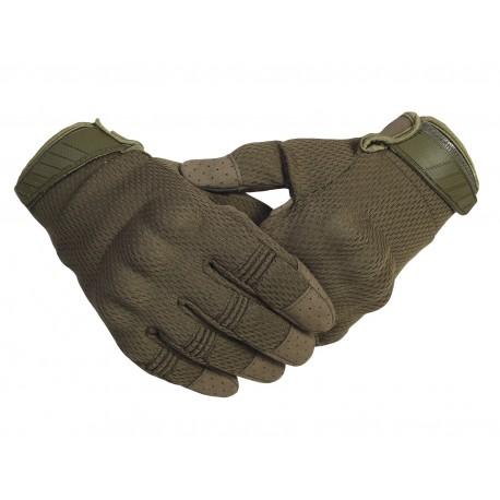 Тактические кевларовые  перчатки  Half-Gloves. Олива.