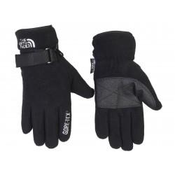 Флисовые мужские перчатки The North Face Thinsulate. Чёрные.
