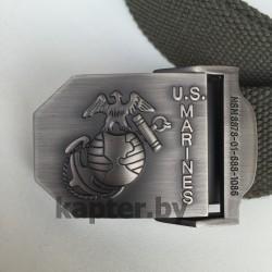 Ремень брючный USMC, Олива.