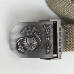 Ремень брючный USMC, Хаки.