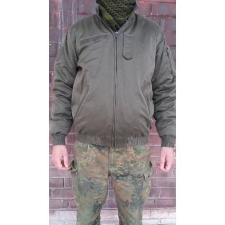 Куртка танковая Австрия. Бомбер, Олива.