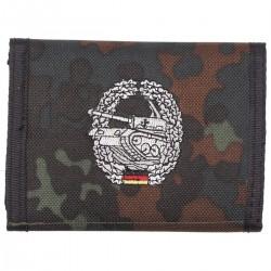 """кошелек BW с эмблемой """"Panzer"""", Танковые войска."""