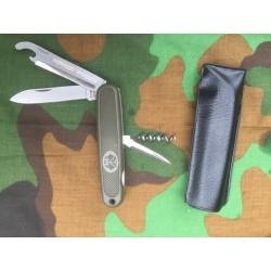 Нож перочинный солдатский Бундесвер (Германия), Олива.
