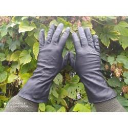 Перчатки кожаные Голландия, Чёрные.