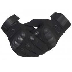 Тактические перчатки с кевларом  . Чёрные.