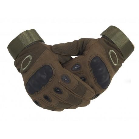 Тактические перчатки с кевларом  . Олива.