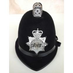 Головной убор (котелок, каска, шлем) английского полицейского, Бобби.