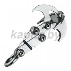 Нож нагрудный скрытого ношения Ka-Bar USMC в ножнах.