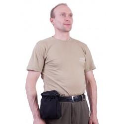 Подсумок Поясная сумка для фляги МОЛЕ. черная.