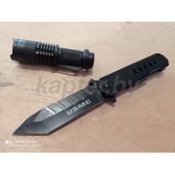 Армейский складной нож USMC . Из стали 3Cr13 .