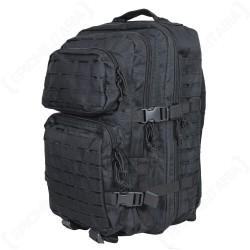 Рюкзак тактический US Assault Pack Laser Cut Германия, 40л, Чёрный.