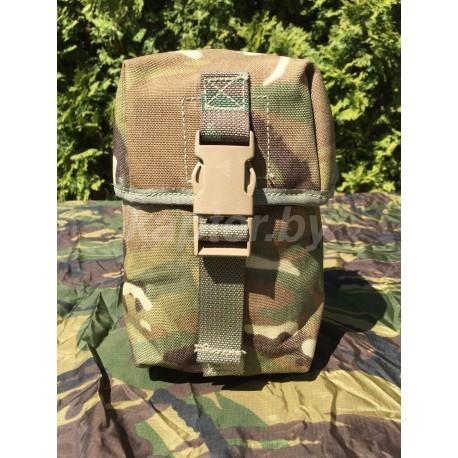Подсумок для боеприпасов. Patronentasche, LMG 100. Osprey MK IV, MTP.