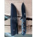 Нож с фиксированным клинком Mtech Xtreme Fixed Blade 440C BL .