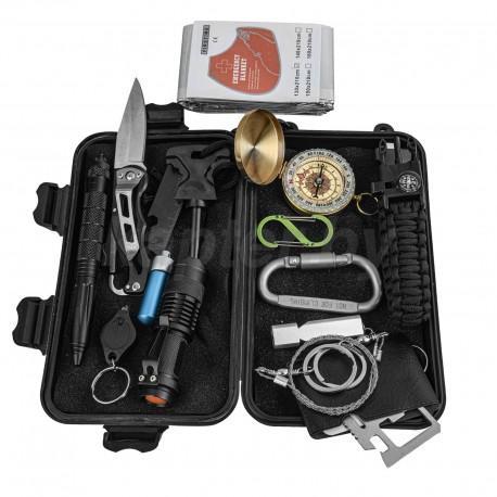 Комплект выживания для экстрималов и туристов 15-в-1 River Scout A15.