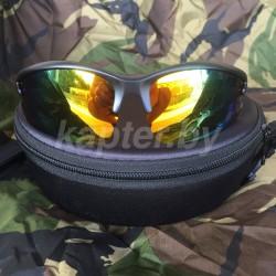 Очки Поликарбонатные UV400 со сменными линзами.