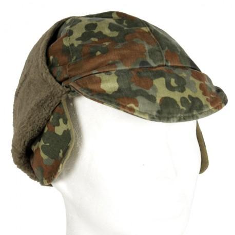 шапка ушанка Bundeswehr. утепленная WINTERMUTZE б/у