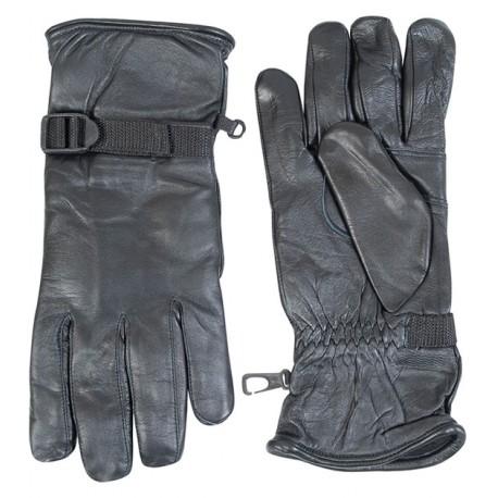 перчатки АНГЛИЙСКИЕ кожаные черные б/у