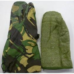 Рукавицы для экстримально холодной погоды Англия, мембрана GORETEX, DPM.